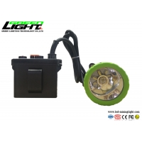 China 11200mAh 50000lux Rechargeable Led Head Lamp 3.7W IP65 on sale