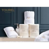 Quality Luxury Plain Dyed Hotel Towel Set In Pakistan With Embroidery Logo for sale