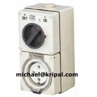 Quality 56CV 66CV IP66 series weather protected switched socket 10A 16A 2A 32A 40A 50A for sale