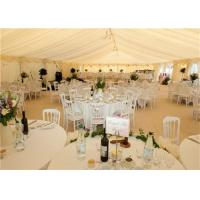 White PVC Canopy Wedding Event Tents 20x30m Aluminum Alloy Clear Span Marquee