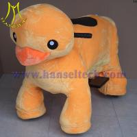 Quality Hansel coin operated electronic plush motorized animals for sale