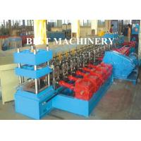 Buy 2 / 3 Beam Exprpessway Rail Guardrail Forming Machine 3mm - 5mm Galavnized at wholesale prices