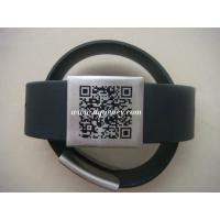 Buy cheap Adjustable Safety ID Alert Bracelet/Wristband,Silicone metal ID bracelet from wholesalers