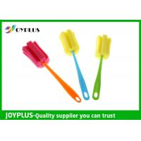 Quality Multi Colors Home Cleaning Tool Bottle Sponge Brush OEM / ODM Available for sale