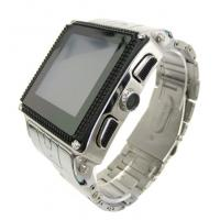 Quality Stainless Steel Waterproof Wrist watch cell phone W818 for sale