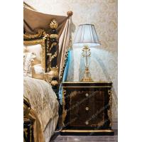 Quality Table French Antique Country Style Bed Tablet Stand Bedside Table for sale