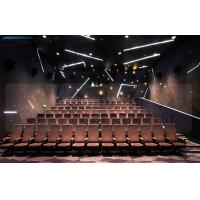 Quality Large Screen 4D Cinema Equipment Project With Pneumatic Motion Chair for sale