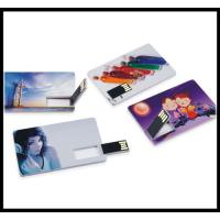 Buy cheap business trip usb flash 2016 full capacity flash drive credit card usb flash drive from wholesalers