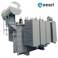 Quality 110kV - 6300 KVA Power Distribution Transformer Safety High Voltage Power Transformer for sale