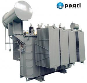 110kV - 6300 KVA Power Distribution Transformer Safety High Voltage Power Transformer