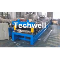 Quality Main Motor Power 7.5kw Roofing Sheet Making Machine / IBR Profile Roll Forming Machine for sale