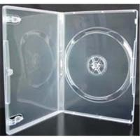 Quality Clear dvd cases 14mm  for machine packing for sale
