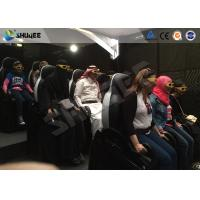 Quality Shopping Mall Motion Ride 5D Movie Theater Movement Chair With 5D Simulator for sale