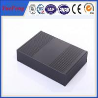 Quality ALUMINUM ELECTRONIC ENCLOSURE 240*45*160 MM (W*H*L) CONTROL WIRING ALUMINUM BOX for sale