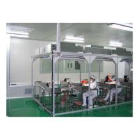 Buy Aerospace / Electronics Softwall Clean Room Chamber With HEPA Air Filter 110V / 60HZ at wholesale prices