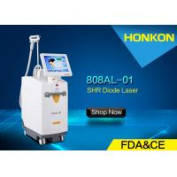 Quality High Performance 808nm Diode Laser Chest / Back / Leg Hair Removal Machine 120J/cm² for sale