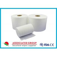 Quality Extra Thick Non Woven Material / Spunlace Non Woven Fabric For Industrial , Eco Friendly for sale