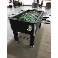 55 Inch Soccer Game Table Wood Foot Table Multicolor Player Steel Play Rods