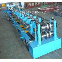 Buy Steel C And Z  Purlin Roll Forming Machine Frame  Construction 80mm - 300mm at wholesale prices