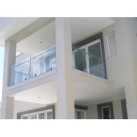 Quality Stainless steel spigot glass railing/ glass balustrade for balcony use design for sale