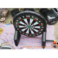 Quality Inflatable Double Sided Foot Dart Games , Velcro Dart For Club Sports for sale