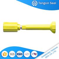 Colorful security shipping container steel with ABS wrapped door lock bolt seal for sale
