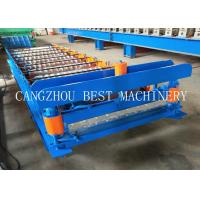 Quality Metal Roofing Galvanized Aluminum Corrugated Steel Sheet Forming Making Machine 8-12m/min Speed for sale