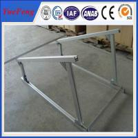 Quality aluminium extruded profile aluminum alloy frame solar system, solar aluminium profiles for sale