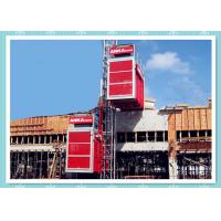 Quality Rack / Pinion Driven Construction Tower Hoist , Temporary Construction Elevators for sale
