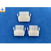 Quality 4.20mm Pitch Single Row Power Connectors Mini-Fit Plug Housing with Panel Mounting Lock for sale