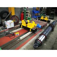 Quality Conventional Welding Rotator Small Diameter Shaft Welding Rollers With Steel Wheels for sale