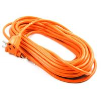 China 14AWG 125V 15A Outdoor Power cord in Orange color for sale