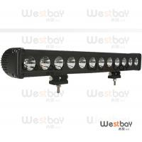 Quality 120W IP67 led light bar singal row CREE led for Project Vehicles,Jeep Wheel Loaders,Truck for sale