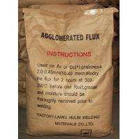 Buy cheap Agglomerated flux type LHSJ101 for Submerged- ARC- welding flux, Welding flux from wholesalers