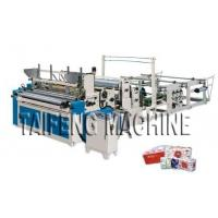 Quality Automatic high speed toilet paper embossed rewinding bathroom tissue making machine for sale