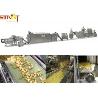China Large Capacity Corn Snack Extruder Machine High Speed Puff Food Production on sale