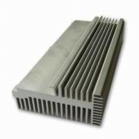 Quality Clear 6063-T5 Aluminum LED Heat Sink Extrusion Profiles With Tapping / Stamping for sale