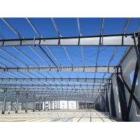 China Sandwich Panel Prefab Workshop Steel Structure With USA Standard Welding for sale