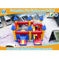 Quality Customized Inflatable Bouncy Castle With Slide Jumping Area For Kids for sale
