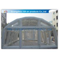 China Inflatable Emergency Shelters Airtight Tunnel Tent Equipment Air Inflatable Tent for sale