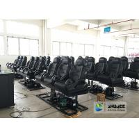 Quality Special Effects 6D Cinema Equipment With Black And White Design for sale