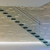 Buy Glass Staircase / Build Floating Stair/ Wooden stair at wholesale prices