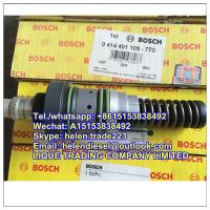 Buy 100% original BOSCH unit pump 0414491109 , 0 414 491 109 , for Deutz engine , genuine and new 02112405 PFM1P100S1009 KHD at wholesale prices