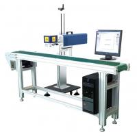 Porcelain Black Marks CO2 Laser Marking Machine For Chassis Easy To Operate for sale