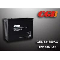Quality 12V 135AH AGM Gel Lead Acid Battery , Energy Storage Battery For Solar Wind Application for sale