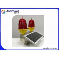 Quality Low - Intensity Double Solar Aviation Obstruction Light For Wind Turbine for sale