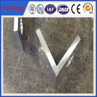 Quality aluminium profile corner joint / aluminum corner profile / aluminium rectangular extrusion for sale