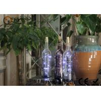 China battery operated glass wine bottle with led lights party decor gift or night light on sale