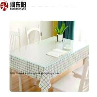 China Transparent Food Grade Plastic Bags PVC Environmental Protection Material Tablecloth on sale