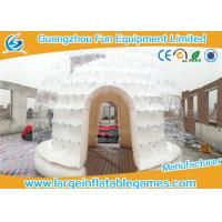 Quality Waterproof Large Dome Inflatable Air Tent Bubble Igloo Tent For Advertising for sale